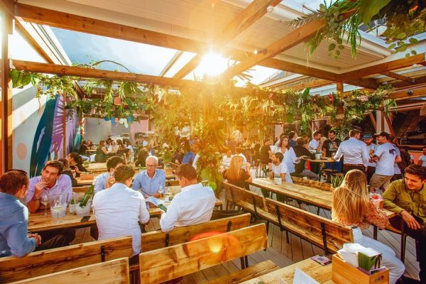 Retractable Roof System for Lost in Brixton